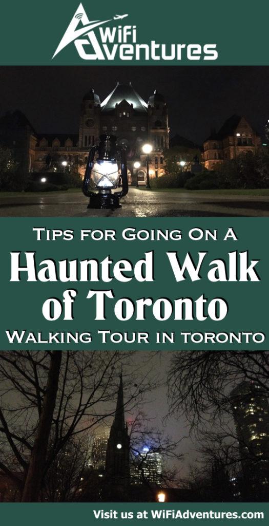 Haunted Walk of Toronto Tips