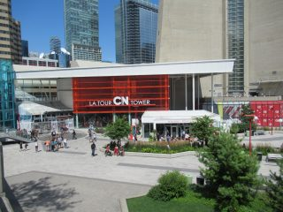 CN Tower Entrance Plaza