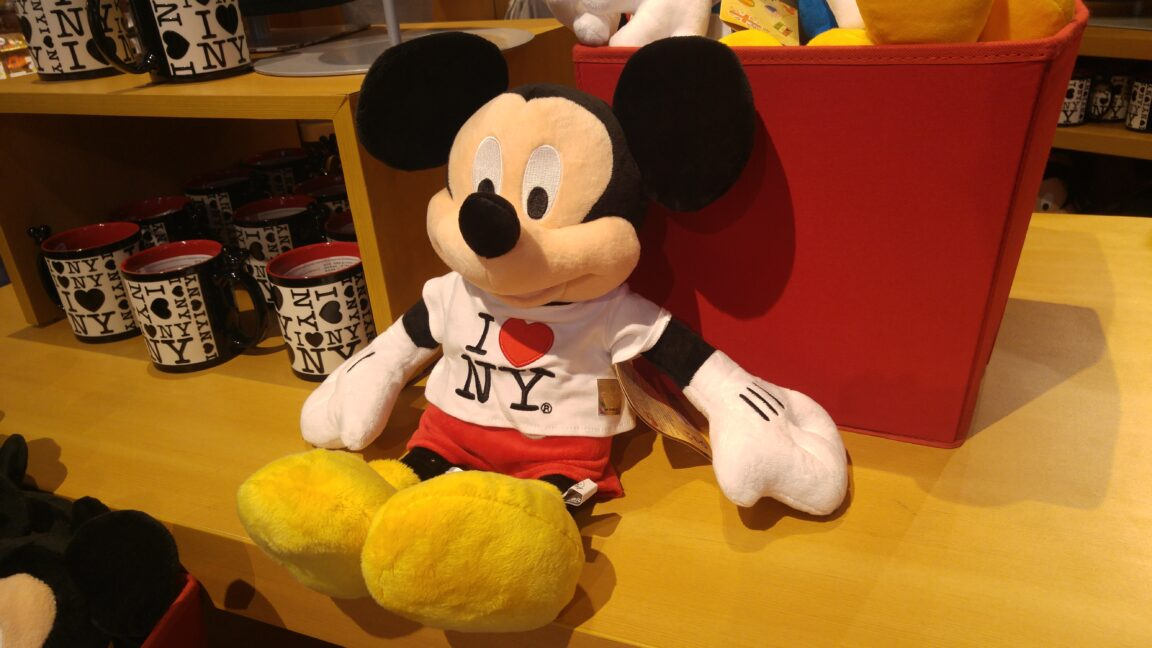 Disney Store Times Square Mickey Mouse