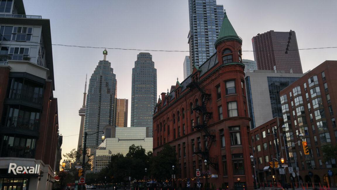 Gooderham Building in Toronto