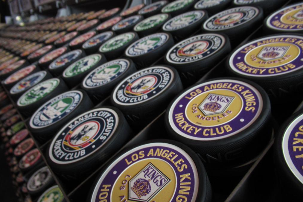 Spirit of Hockey Pucks