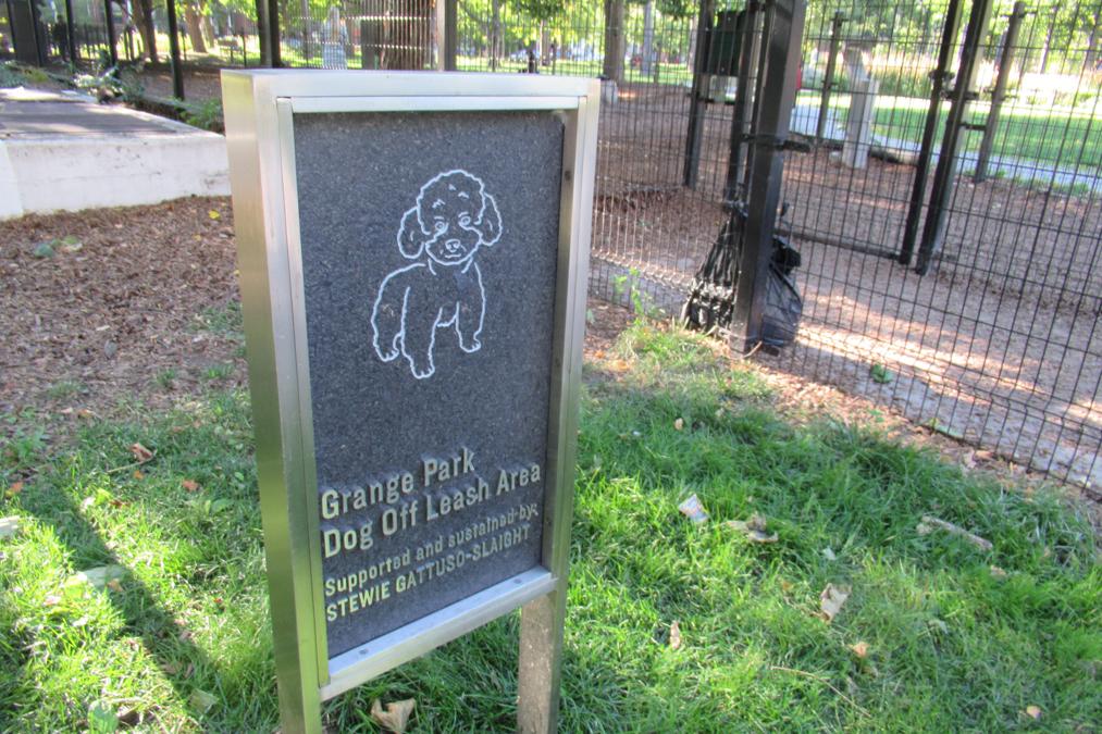 Grange Park Dog Off Leash Area