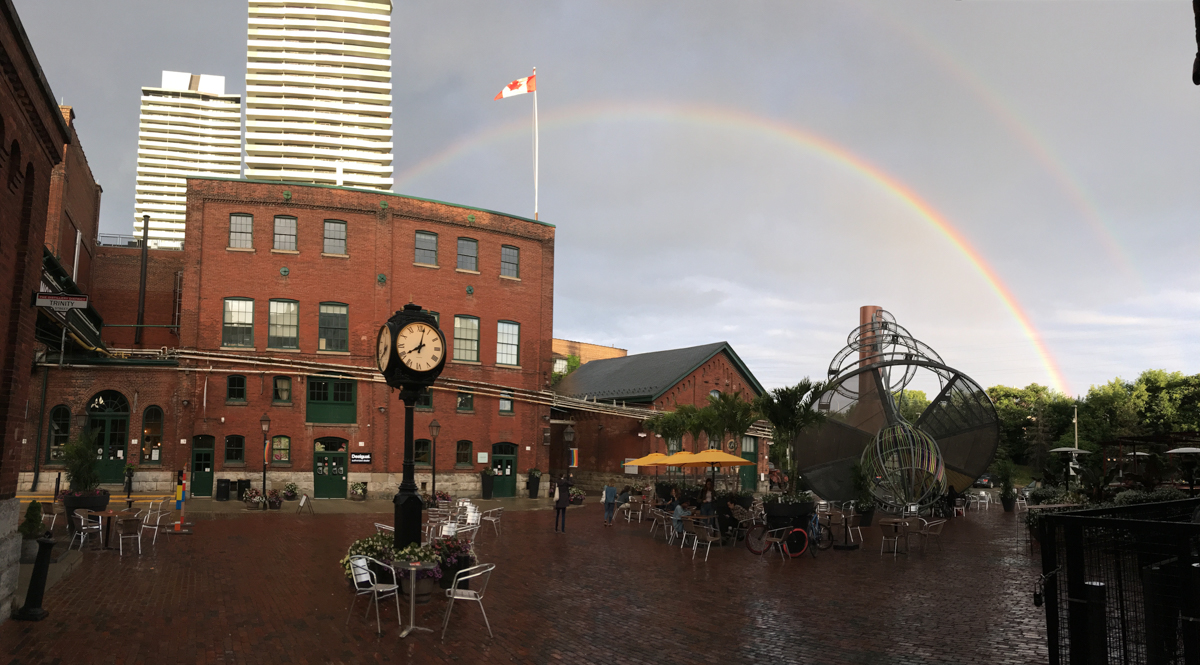 Distillery District Rainbow