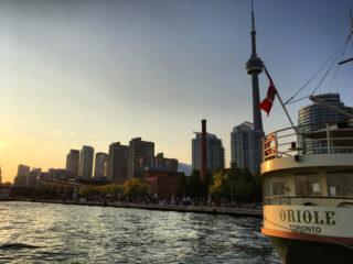 Toronto Harbourfront at Dusk