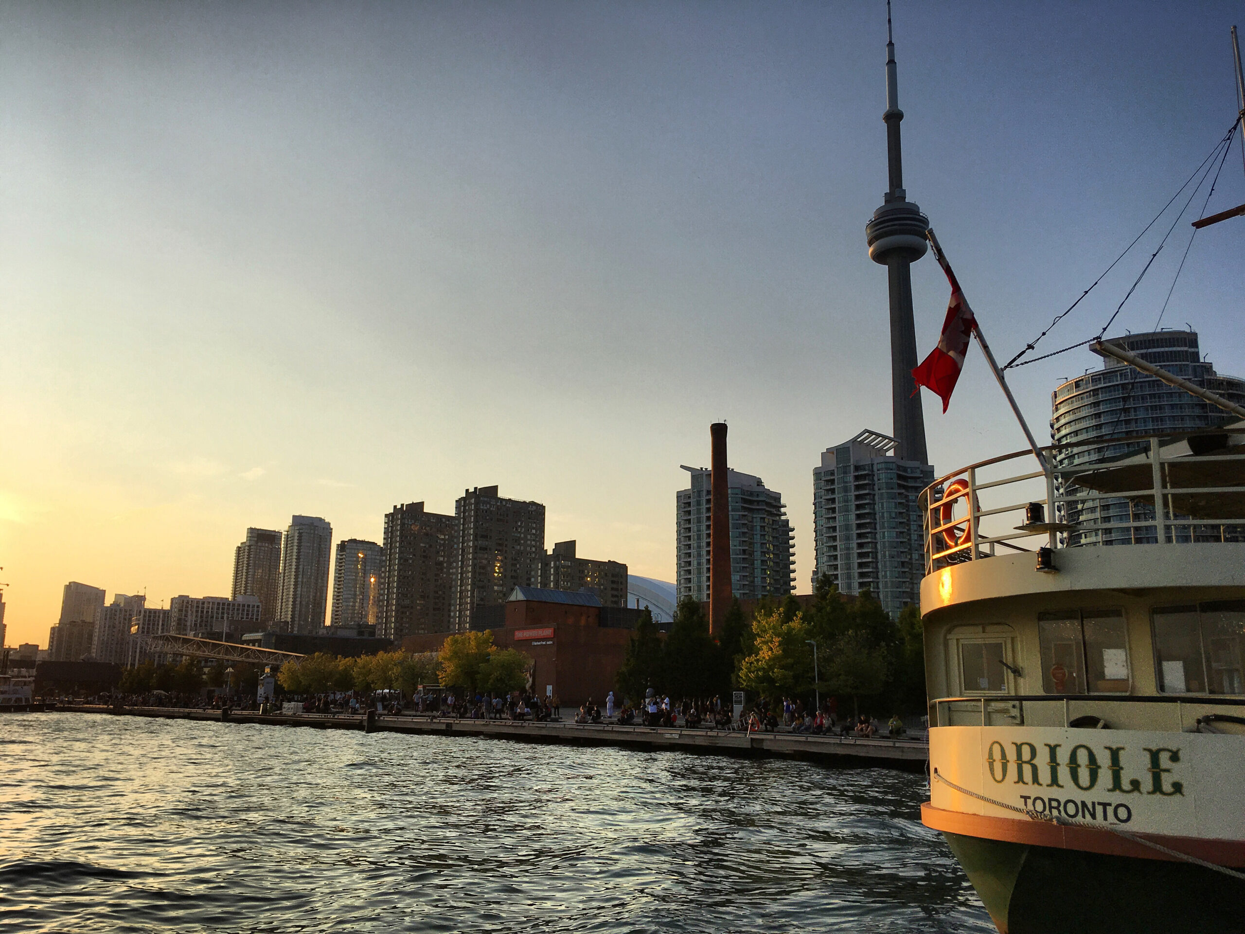 Toronto Harbourfront at Dusk