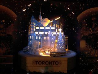 Toronto Hudson Bay Christmas Windows