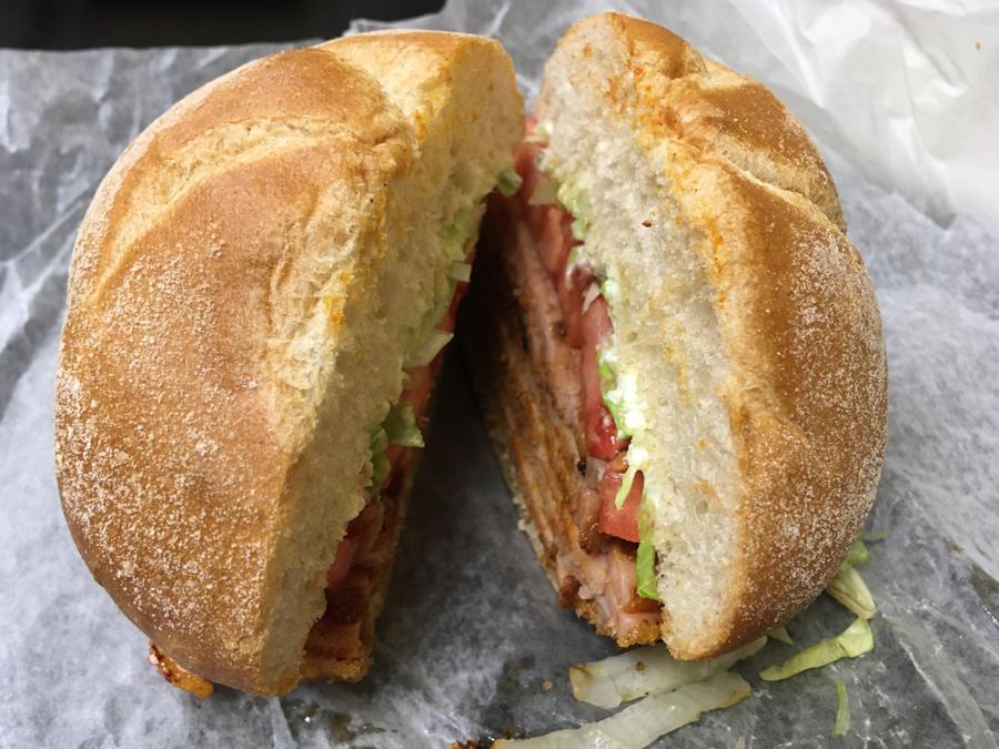 Peameal Bacon Sandwich